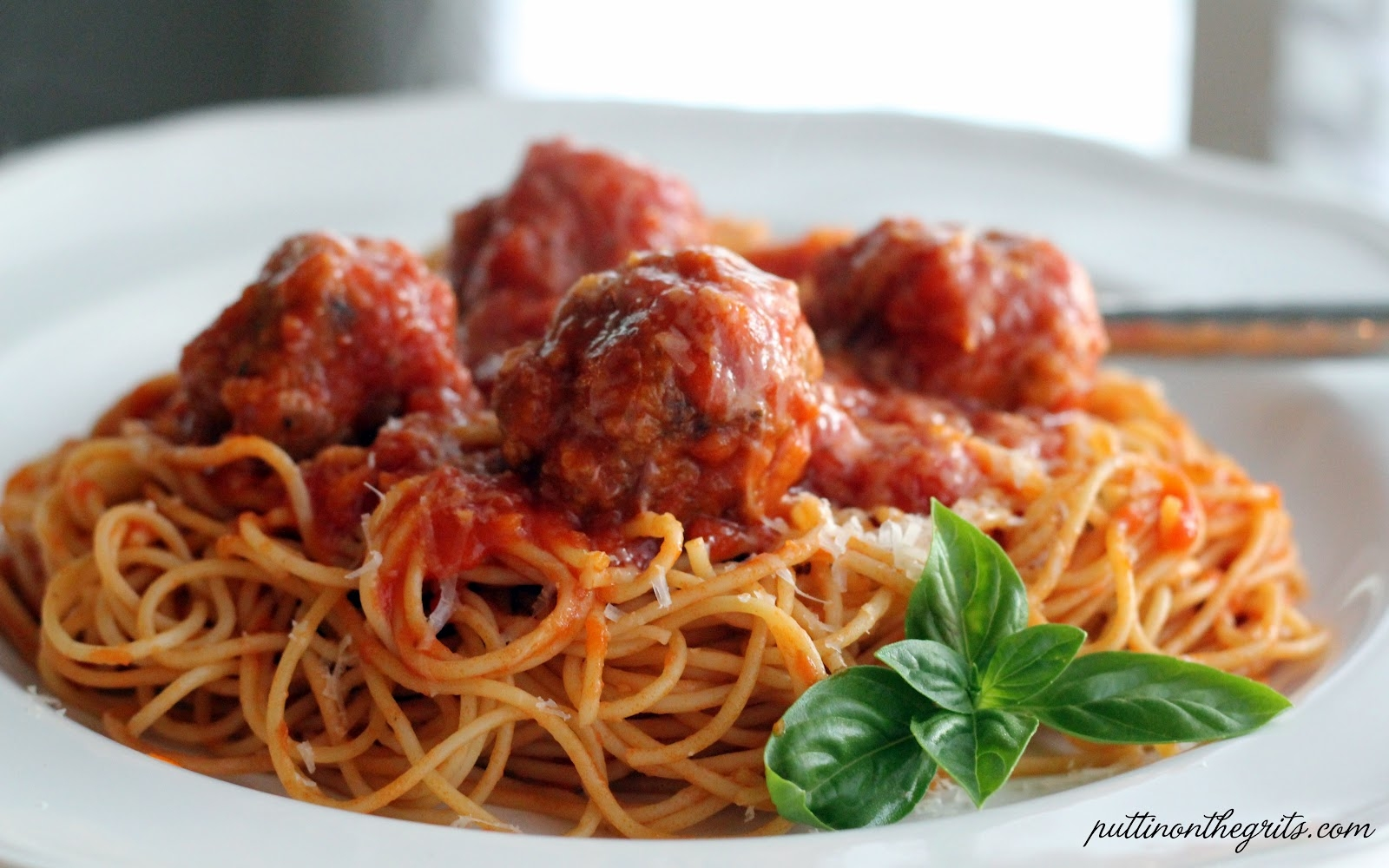 Pasta Cheese Meatball