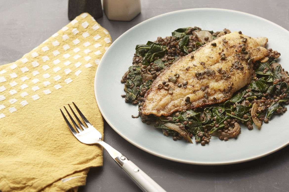Lemon-Caper Catfish